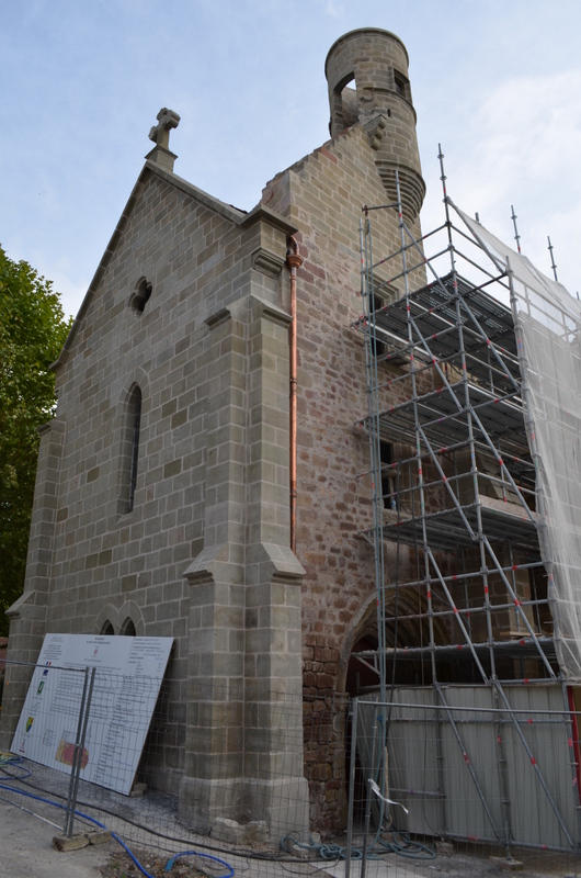 renovation église septembre